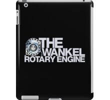The Wankel Rotary Engine (1) iPad Case/Skin