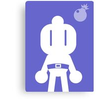 Retro Hero Series #7: Bomberman Canvas Print