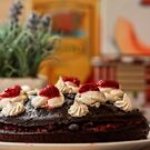 chocolate cake by Manon Boily