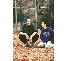 Monica and Chandler Photographic Print
