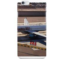 San Diego, Airbus A320-231 preparing for takeoff iPhone Case/Skin
