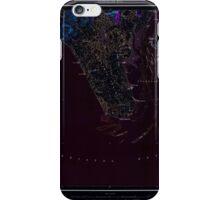 USGS TOPO Map Alaska AK Nushagak Bay 361269 1951 250000 Inverted iPhone Case/Skin