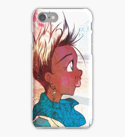 Forlorn and Spiky Hair Styles iPhone Case/Skin