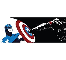 Captain America and The Winter Soldier Photographic Print