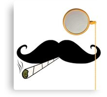 High-Class Hash Tash Canvas Print