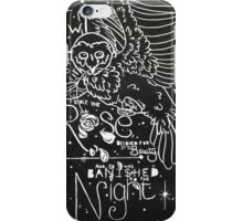 The Owl and the Rose iPhone Case/Skin