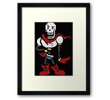 coloured papyrus Framed Print