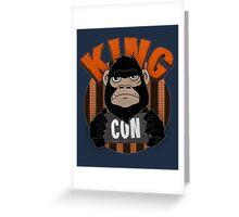 King Con Greeting Card