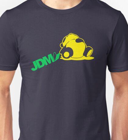 Sleepy Panda JDM (3) Unisex T-Shirt