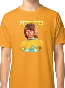 Bjorn Ulvaeus from Abba retro football team design!~ Classic T-Shirt