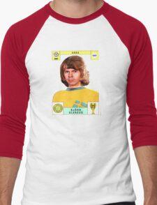 Bjorn Ulvaeus from Abba retro football team design!~ Men's Baseball ¾ T-Shirt