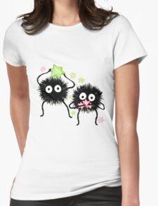 Susuwatari Womens Fitted T-Shirt