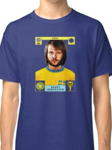 Benny Andersson from Abba retro football team design!~ Classic T-Shirt