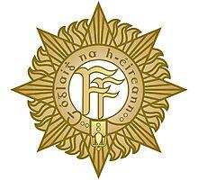 Irish defence forces crest Photographic Print