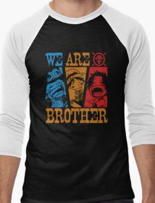 We Are Brothers - Portgas D Ace, Monkey D Luffy, Sabo One Piece Men's Baseball ¾ T-Shirt