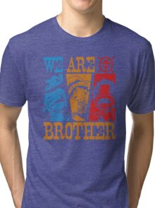 We Are Brothers - Portgas D Ace, Monkey D Luffy, Sabo One Piece Tri-blend T-Shirt