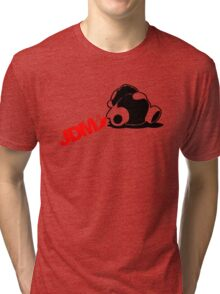 Sleepy Panda JDM (5) Tri-blend T-Shirt