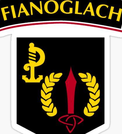 irish army ranger wing crest Sticker