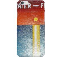 Flat Water - Flat Earth iPhone Case/Skin