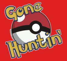 Gone Huntin' Pokemon  Kids Tee