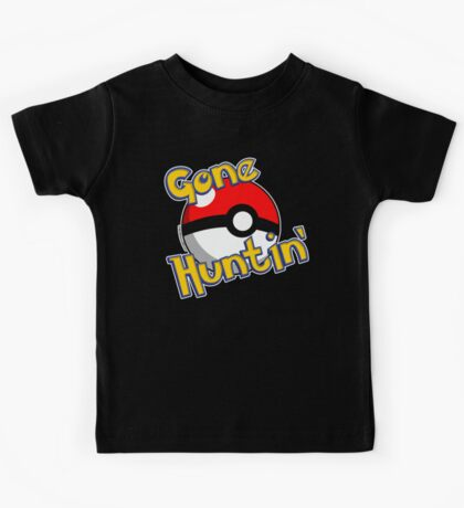 Gone Huntin' Pokemon  Kids Tee