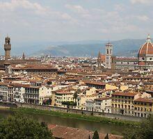 Florence Skyline by Elena Skvortsova