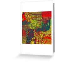 0485 Abstract Thought Greeting Card