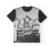 Hollywood Tower Hotel (Black & White) Graphic T-Shirt
