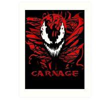 Carnage Primed Art Print