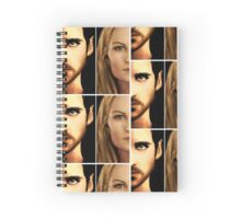 Captain Swan portraits Spiral Notebook