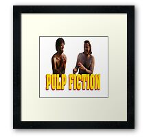 Pul Fiction Nothing Framed Print