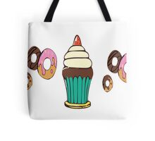 Donuts and Cupcakes Tote Bag