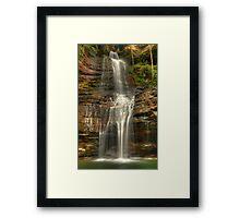 Empress Falls cascades. Framed Print