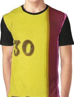 30 Graphic T-Shirt