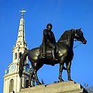 King George IV, Trafalgar Square by Ludwig Wagner