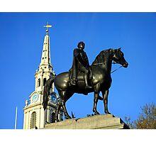 King George IV, Trafalgar Square Photographic Print