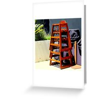 Take Me Higher Chairs Greeting Card
