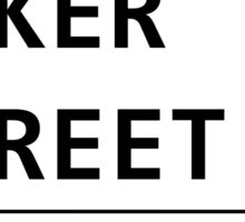 Baker Street Sign Sticker