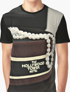 Hollywood Tower Hotel Aesthetic Graphic T-Shirt