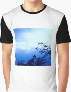 Purple Sky by Snow Graphic T-Shirt
