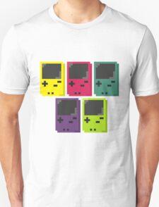 Gameboy Colors Unisex T-Shirt