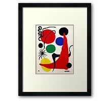 """Alexander Calder, """"Green Ball"""" Framed Print"""
