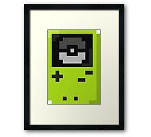 Gameboy color lime Framed Print
