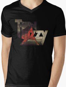 THIN LIZZY RENEGADE Mens V-Neck T-Shirt