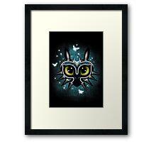 Toothless Mask Framed Print