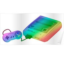 Rainbow SNES (Super Nintendo Entertainment System) Poster