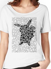 Pokemon Go Pikachu Geometric Doodle Women's Relaxed Fit T-Shirt