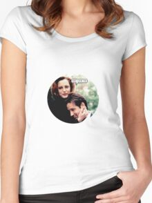"Gillovny - ""Wow I love you"" Women's Fitted Scoop T-Shirt"