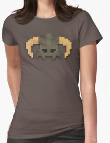 Dovakhiin 8bit Womens Fitted T-Shirt