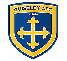 Guiseley AFC Badge Photographic Print